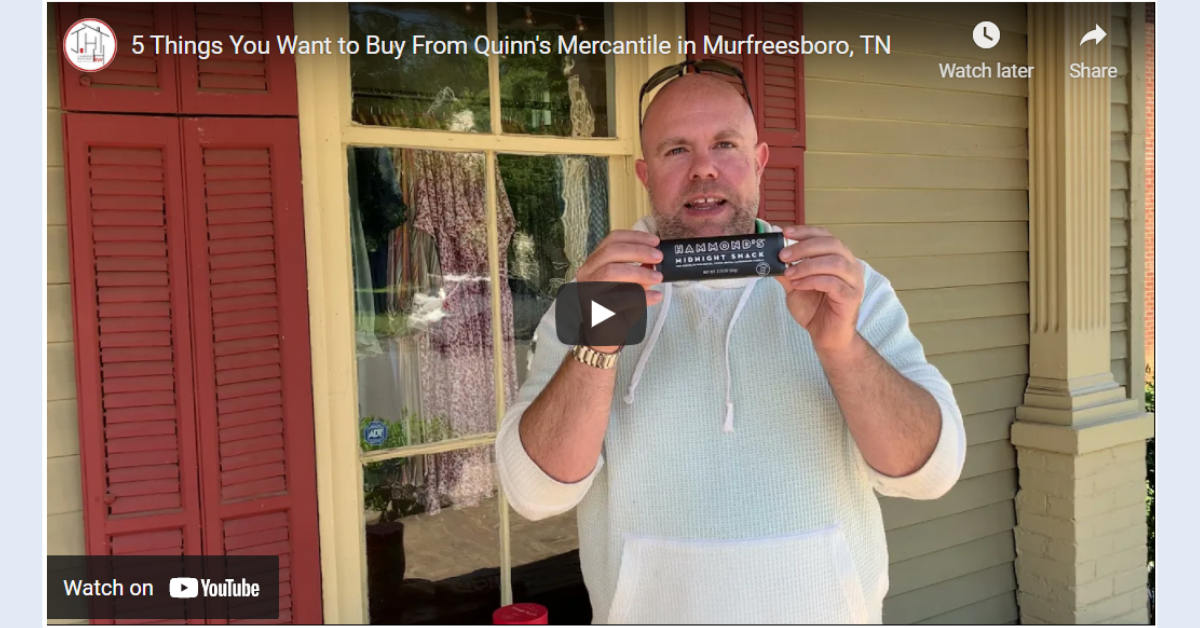 5 Things You Want to Buy From Quinn's Mercantile in Murfreesboro, TN